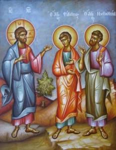 Покликання Филипа і Нафанаїла