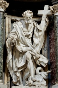 Статуя ап. Пилипа в Латеранській базиліці, Giuseppe Mazzuoli