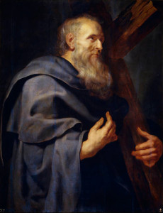 Апостол Пилип, by Peter Paul Rubens, from his Twelve Apostles series, 1611