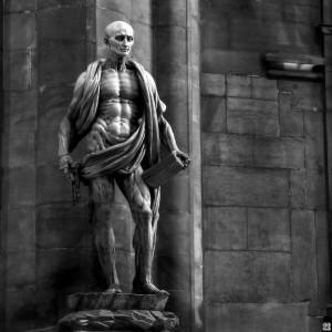 Статуя Варфоломея з власною шкірою, Marco d'Agrate, 1562