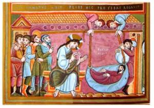 Post 2-10 Codex_Aureus_-_Healing_Of_The_Paralytic