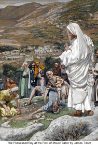 Post 4-3 James Tissot The Possessed Boy at the Foot of Mount Tabor