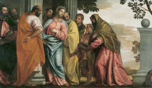 Мати Якова та Іоана просить за своїх дітей