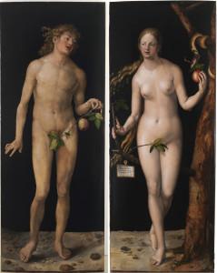 Адам і Єва, Albrecht Dürer