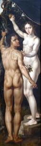 Адам і Єва, Maarten van Heemskerck