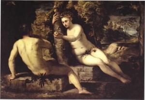 Гріхопадіння Адама і Єви, Tintoretto