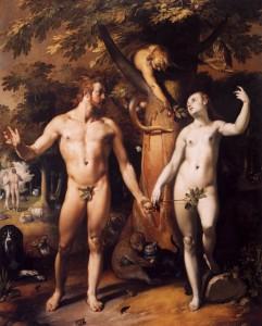 Гріхопадіння Адама і Єви, Cornelis Cornelisz. van Haarlem