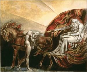 Господь оголошує вирок Адаму, William Blake', 1795