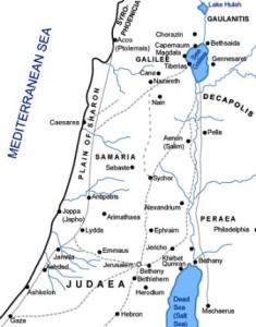 Карта Самарії