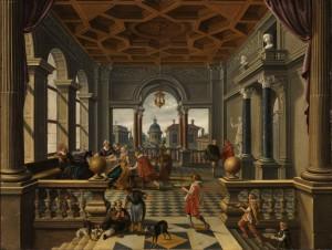 Притча про багача і Лазаря, Bartholomeus van Bassen