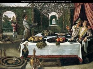 Притча про багача і Лазаря, Lodovico Pozzoserrato