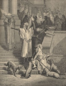 Притча про багача і Лазаря, Gustave Dore