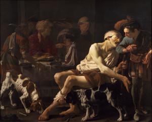 Притча про багача і Лазаря, Hendrick ter Brugghen