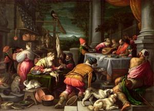 Притча про багача і Лазаря, Leandro da Ponte Bassano