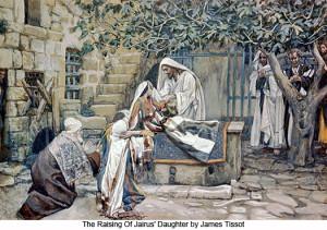 Pent 24-13 Воскресіння дочки Іаїра, James Tissot