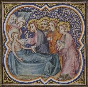 Воскресіння дочки Іаїра, 1372, France