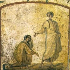Фреска з Римських катакомб, 4 ст.