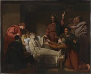 Воскресіння дочки Іаїра, Henry Thomson, 1773-1843
