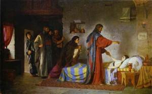 Воскресіння дочки Іаїра, Vasiliy Polenov, 1871.