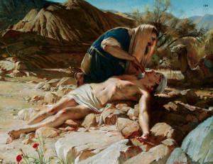 Милосердний самарянин, Walter Rane