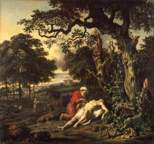 Милосердний самарянин, Jan Wijnants (1670)