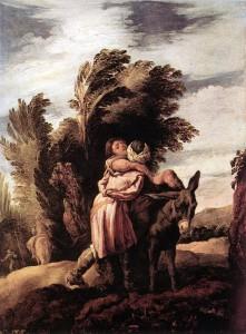 Милосердний самарянин, Domenico Fetti