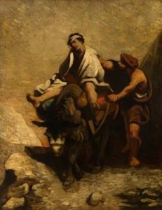 Милосердний самарянин, Honoré Daumier 1850–1860