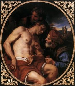 Милосердний самарянин, Johann Carl Loth