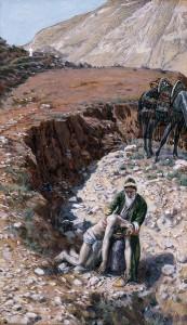 Милосердний самарянин, James Tissot