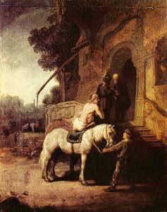Милосердний самарянин, Rembrandt (1630)