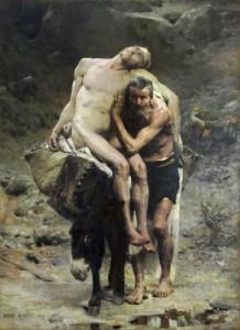 Милосердний самарянин, Aimé Morot (1880)