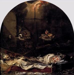 Finis gloriae mundi, Juan de Valdés Leal, 1672