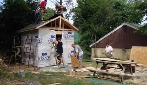 Будівництво господарського будинку