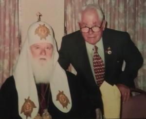 Патріарх Філарет і Максим Штука
