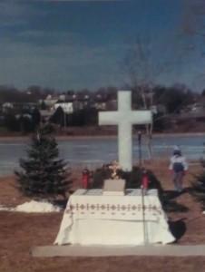 Хрест на 1000-ліття хрещення