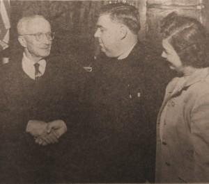 о. Андрій Бек з матушкою зустрічаються з мером Бриджпорта