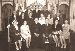 о. Павло Багнівський з хором