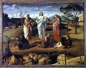 Переображення. Giovanni Bellini, 1490