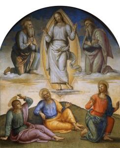 Переображення. Pietro Perugino, 1500