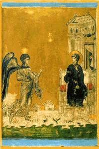 Благовіщення, монастир св. Катерини, 13 ст.