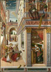 Благовіщення, Carlo Crivelli