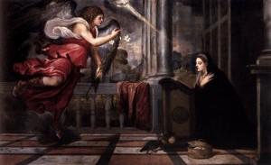 Благовіщення, Titian, 1535