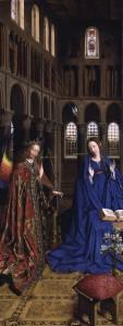 Благовіщення, Jan van Eyck 1390 – 1441