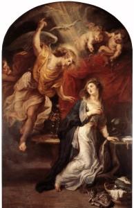 Благовіщення, Rubens, 1628