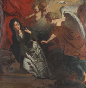 Благовіщення, Johann Christian Schröder