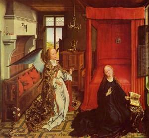 Благовіщення, van der Weyden, 1435
