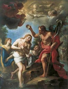 Хрещення Ісуса Христа, Francesco Trevisani, 1723