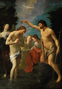 Хрещення Ісуса Христа, Guido Reni, c. 1623