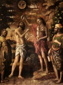Хрещення Ісуса Христа, Andrea Mantegna