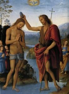 Хрещення Ісуса Христа, Pietro Perugino, c. 1497